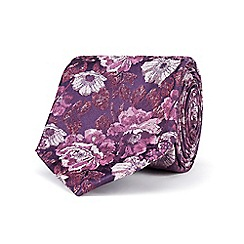Stvdio by Jeff Banks - Rose tonal floral tie