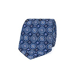 Stvdio by Jeff Banks - Navy deco tie