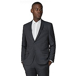 Red Herring - Blue grey semi plain slim fit suit