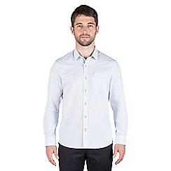 Jeff Banks - White dobby shirt