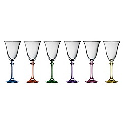 Galway Crystal - Liberty party pack of six wine goblets