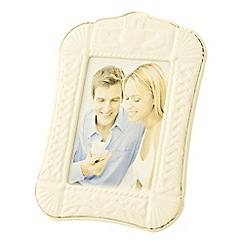 Belleek Living - Claddagh 5 x 7 frame