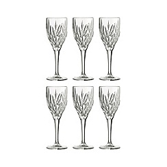 Galway Living - Clifden set of six wine goblets