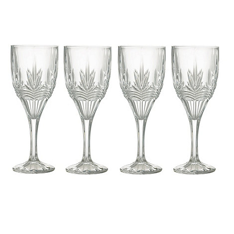 Galway Living - Kells set of four wine goblets
