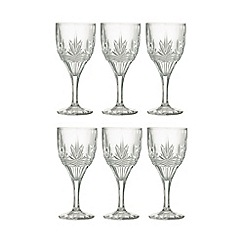 Galway Living - Kells' Set Of 6 Crystal Goblets
