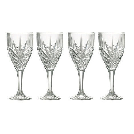 Galway Living - Tralee set of four wine glasses