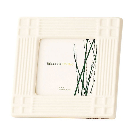 Belleek Living - Ivory Inspired 3X3 Photo Frame