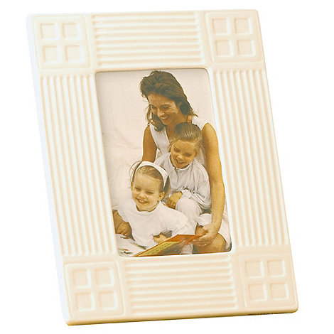 Belleek Living - Ivory +Inspired+ 6X4 Photo Frame