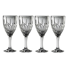 Galway Crystal - Galway Crystal Abbey Goblet (set of 4)