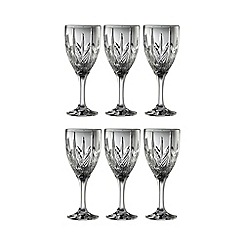 Galway Crystal - Galway Crystal Abbey Goblet (set of 6)