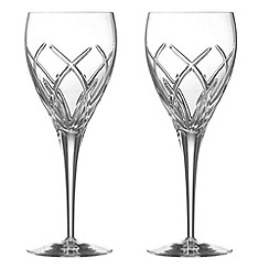 Galway Living - Mystique pair of wine goblets