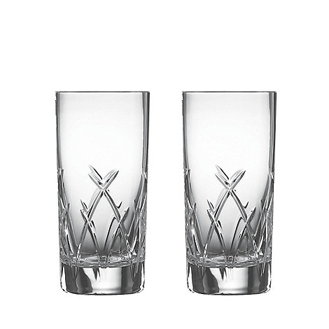 Galway Living - Mystique pair of hi-ball glasses