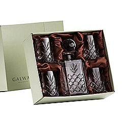 Galway Crystal - Renmore decanter set