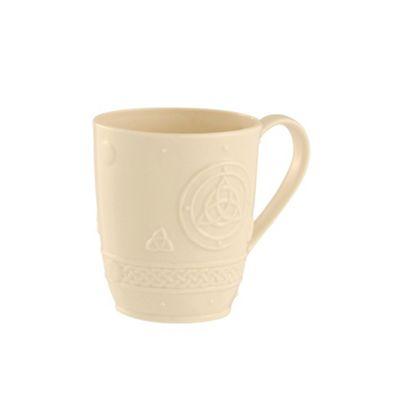 Belleek Living Celtic set of two mugs - . -