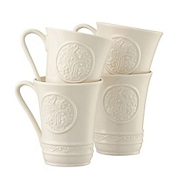 Belleek Living - Irish Craft set of four mugs