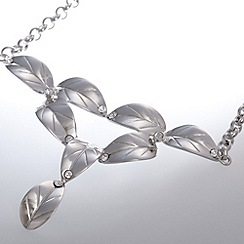 Belleek Living - Silver Leaves necklace