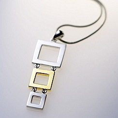 Belleek Living - Silver 'Belleek Designer' Geo Necklace