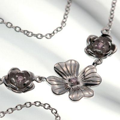 Belleek Living Bouquet necklace - . -