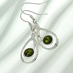 Belleek Living - Peridot Green Earrings