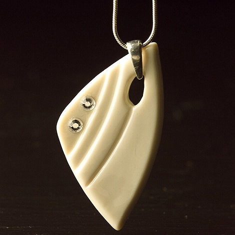 Belleek Living - Ivory +Belleek Designer+ Sunbeam Necklace