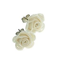 Belleek Living - Rose Earrings