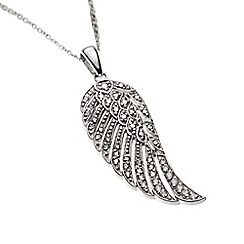 Belleek Living - Feather necklace