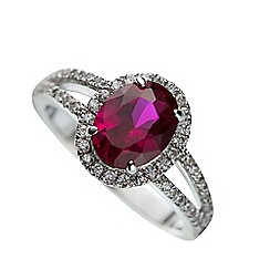Belleek Living - Ruby Ring (Medium)