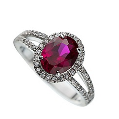 Belleek Living - Ruby Ring (Large)