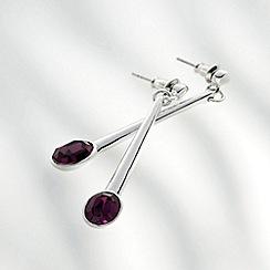 Belleek Living - Amethyst Earrings