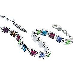 Belleek Living - Multicoloured Rainbow bracelet
