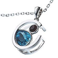 Belleek Living - Silver Crescent necklace