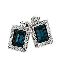 Belleek Living - Silver sapphire earrings