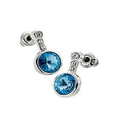 Belleek Living - Silver azure earrings