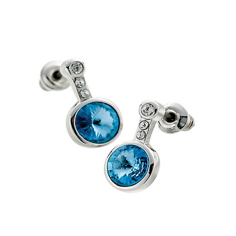 Belleek Living - Silver azure earrings