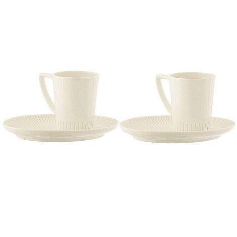 Belleek Living - Lines breakfast tray and mug set