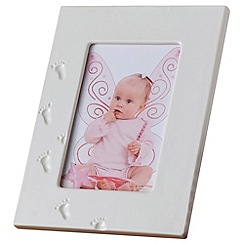 Belleek Living - Ivory 'Baby' 6X4 Photo Frame