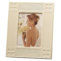 Belleek Living - Ivory 'Inspired' 5X7 Photo Frame