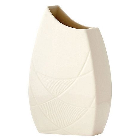 Belleek Living - Ivory Eclipse 10inch Vase