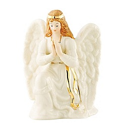 Belleek Living - Ivory Nativity Angel Christmas figurine