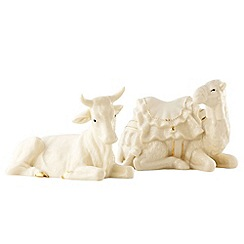 Belleek Living - Ivory Christmas Manger Set