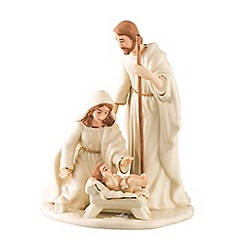 Belleek Living - Nativity family small figurine