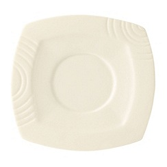 Belleek Living - Ivory Solace Saucer