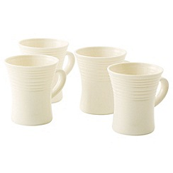 Belleek Living - Ivory Solace Set Of Four Mugs