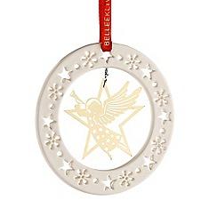 Belleek Living - Gold Angel ornament