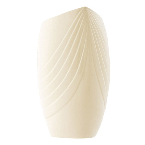 Belleek Living - Ivory Chic 12inch Triangle Vase