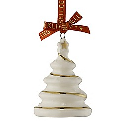 Belleek Living - Christmas Treasures Mini Christmas Tree Ornament