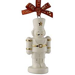 Belleek Living - Christmas Treasures Mini Nutcracker Ornament
