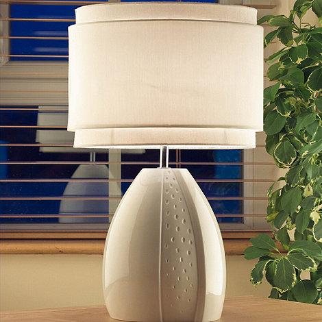 Belleek Living - Ivory +Champagne+ Lamp