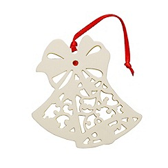 Belleek Living - Christmas Bells ornament