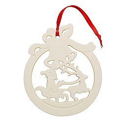 Belleek Living - Christmas Santa Bauble ornament